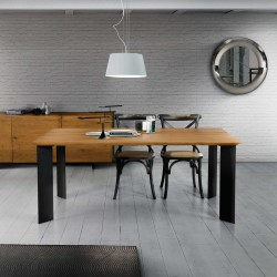 Table fixe Brenna chêne...