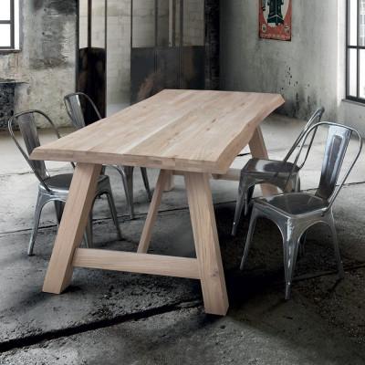 Table fixe Flora en nœud...