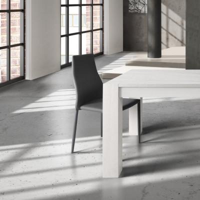 Table extensible en chêne brossé