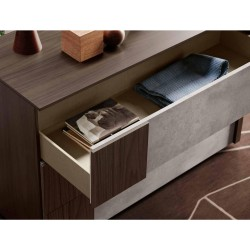 Bob bedroom group melamine essence and colored finishes