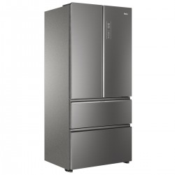 Haier HB18FGSAAA side-by-side refrigerator Freestanding 539 LE Stainless steel