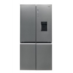 Haier HTF-520IP7 side-by-side refrigerator Freestanding 525 LF Stainless steel
