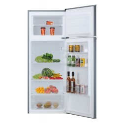 Candy CMDDS 5142XN refrigerator with freezer Freestanding 204 LF Stainless steel