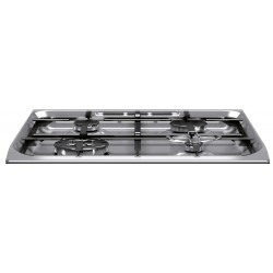Hotpoint H6TMH2AF (X) EN kitchen Hob Gas Stainless steel A