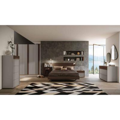 Alba bedroom wardrobe with...
