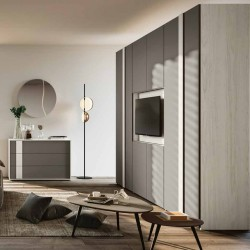 Cloè bedroom TV stand cabinet bed container