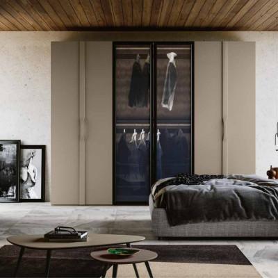 Chambre à coucher Grazia armoire à charnières Lit conteneur