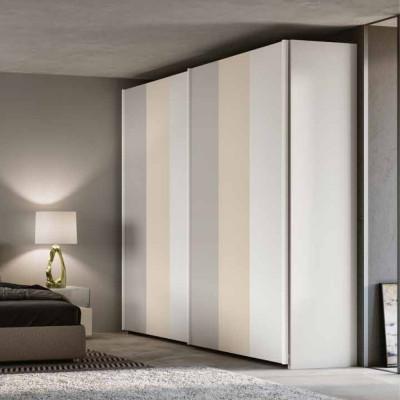 Camera da letto Nicole armadio scorrevole letto contenitore