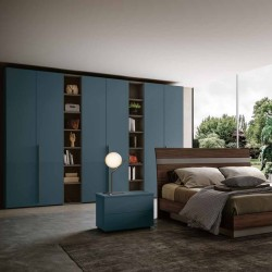 Emily bedroom wardrobe hinged bed container