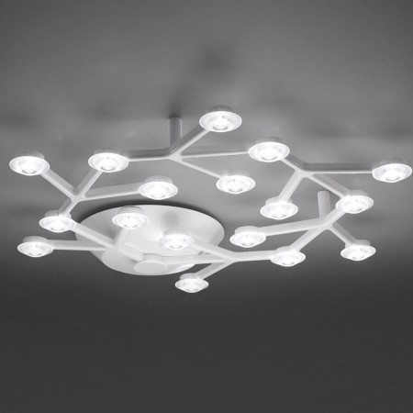 Artemide Lampada soffitto Led Net Bianco