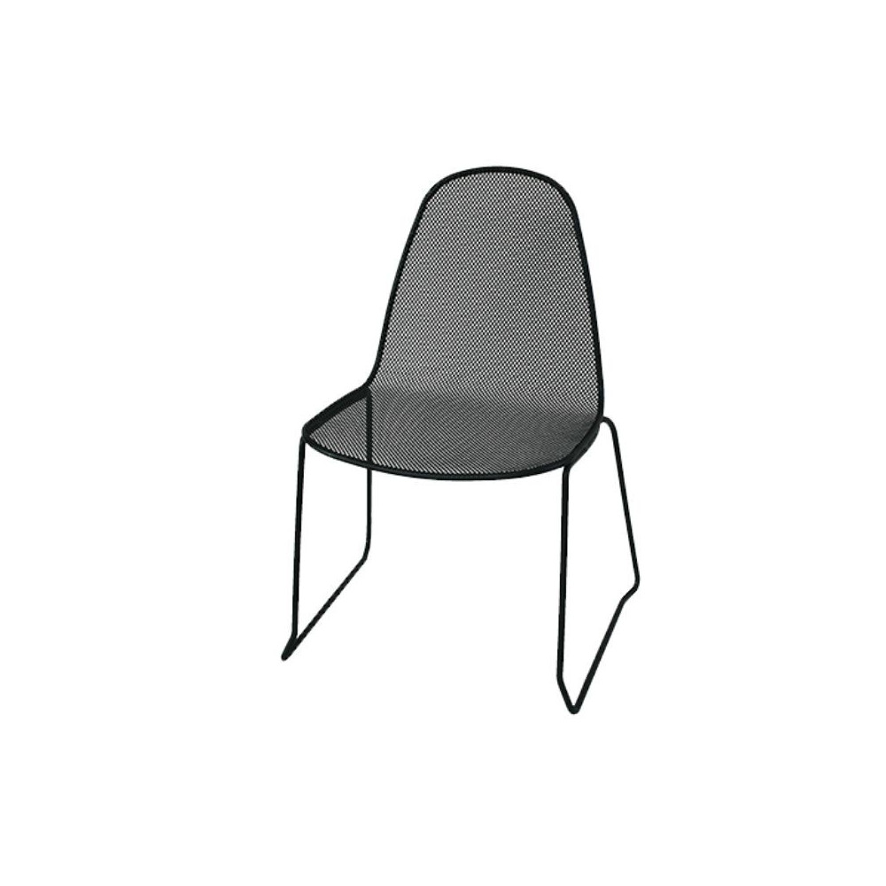 Camilla outdoor chair 1 structure, seat