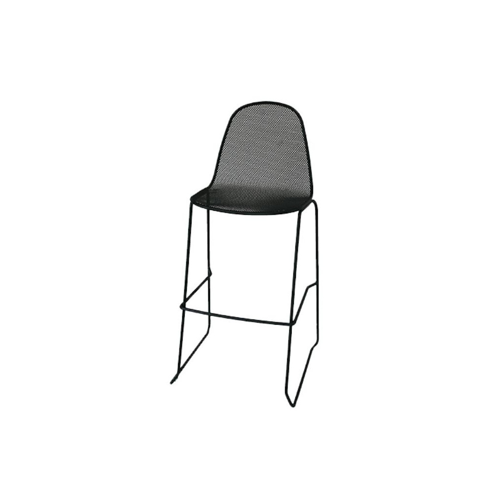 Camilla 75 outdoor stool with structure,