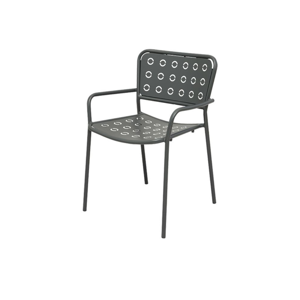Pop 2 outdoor chair, with armrests, seat