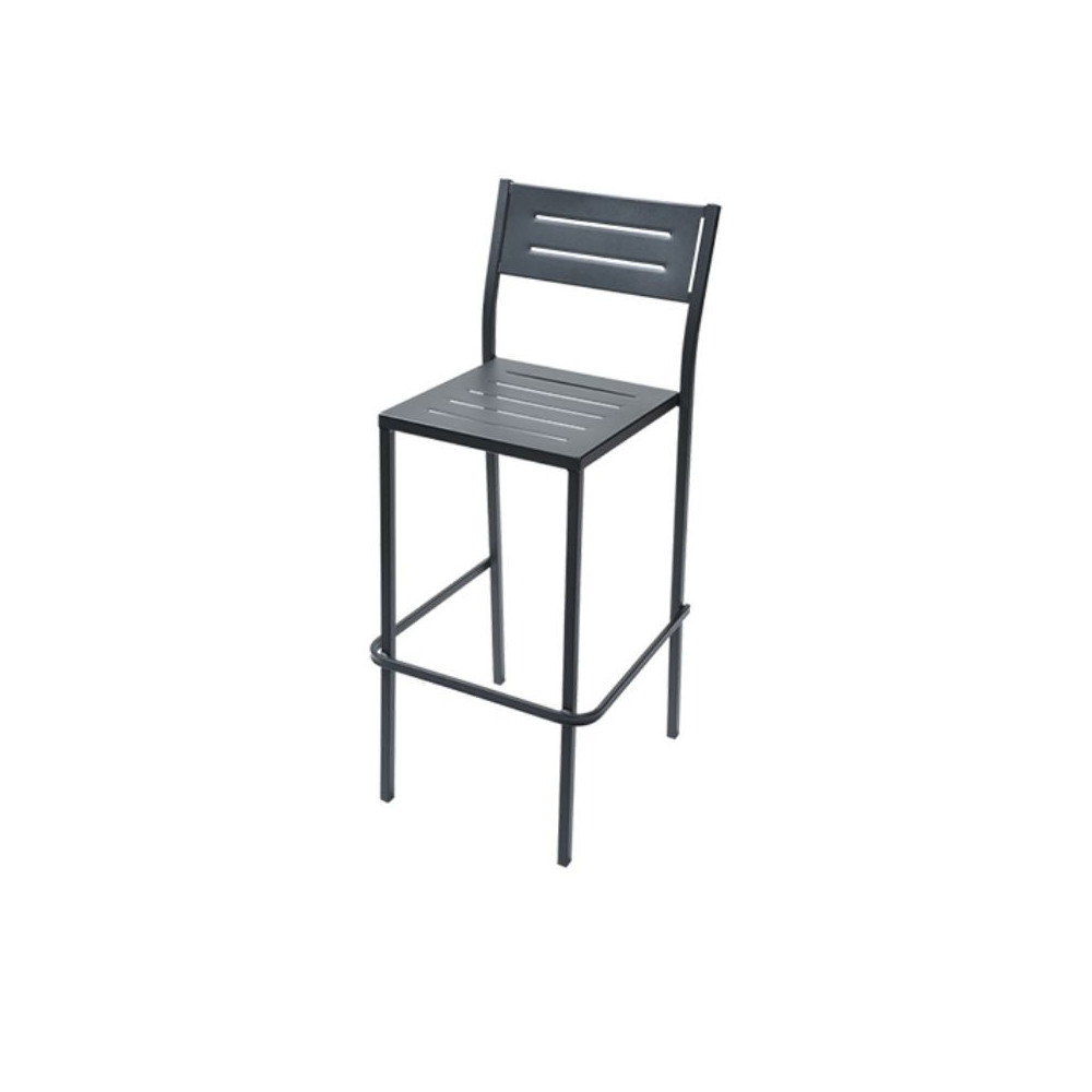 Dorio 75 outdoor stool seat and back