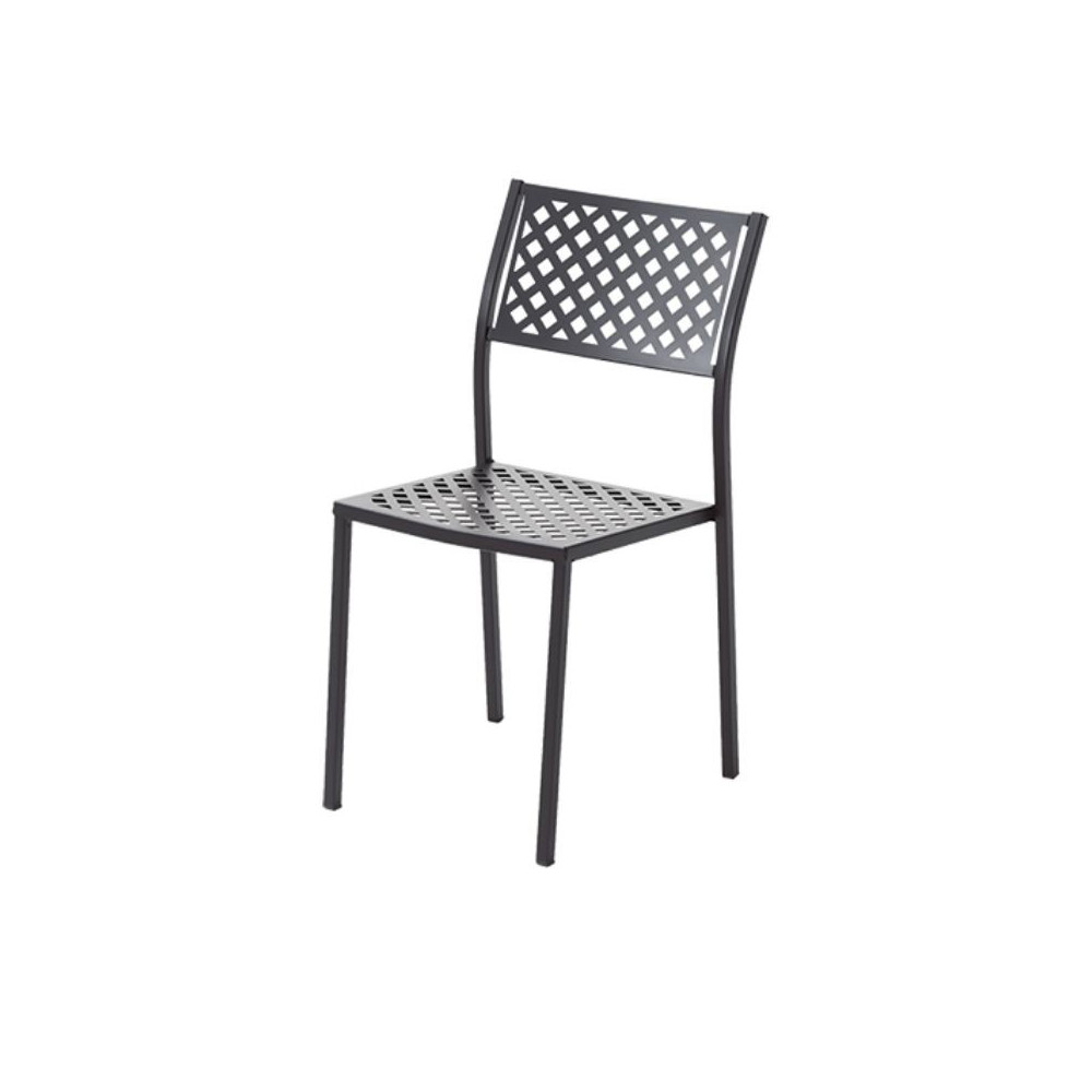 Lola 1 outdoor chair, structure, seat