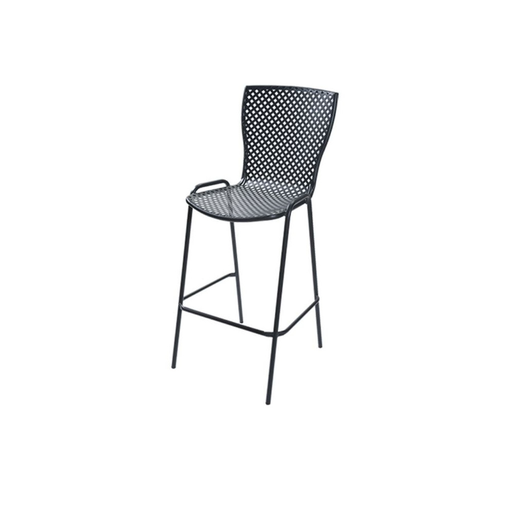 Sonia 75 outdoor stool with structure,