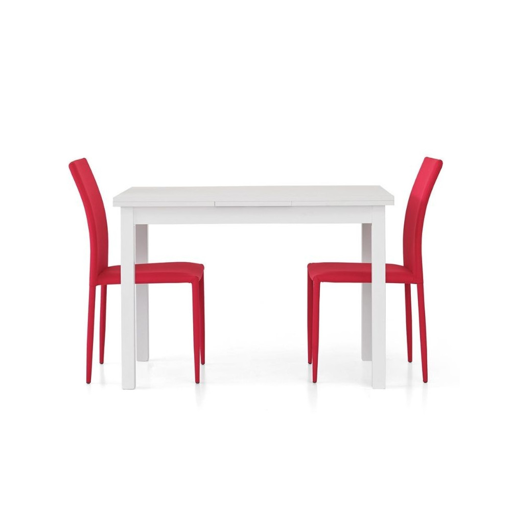 Frya table with 2 extensions of 40 cm,