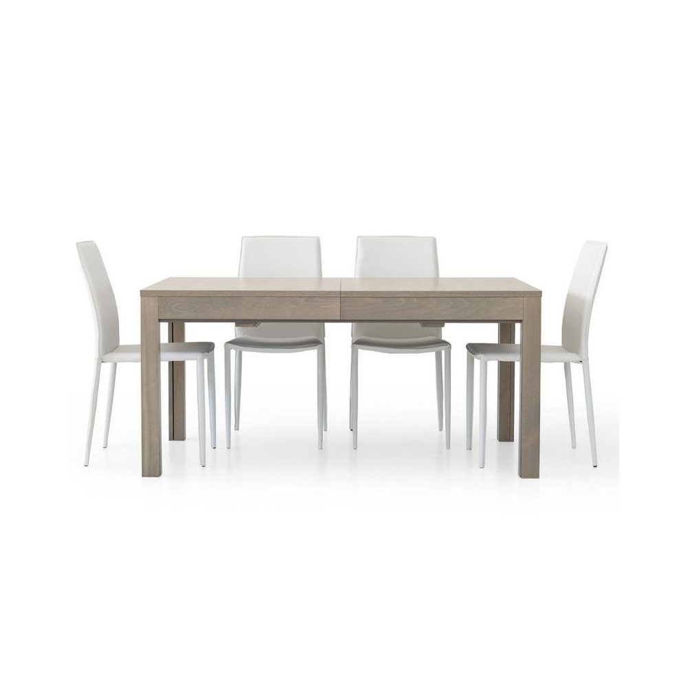 Rectangular table Lar s 2 in gray oak