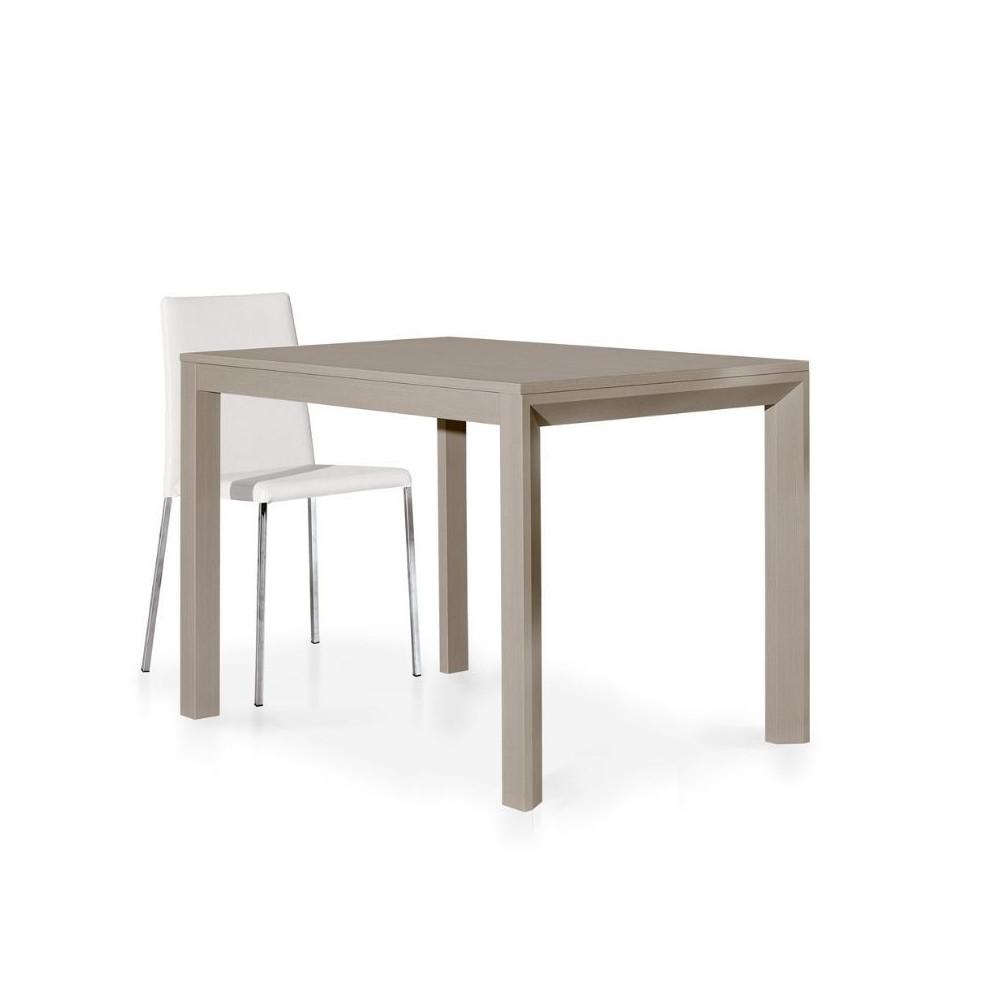Tavolo moderno in laminato tortora con 1