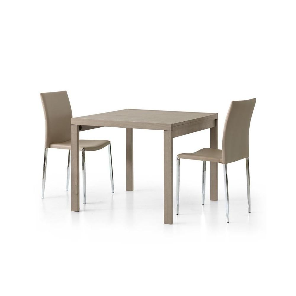 Tavolo Sonia 1 quadrato allungabile in