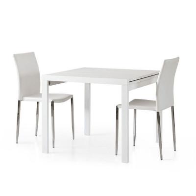 Table carrée extensible...
