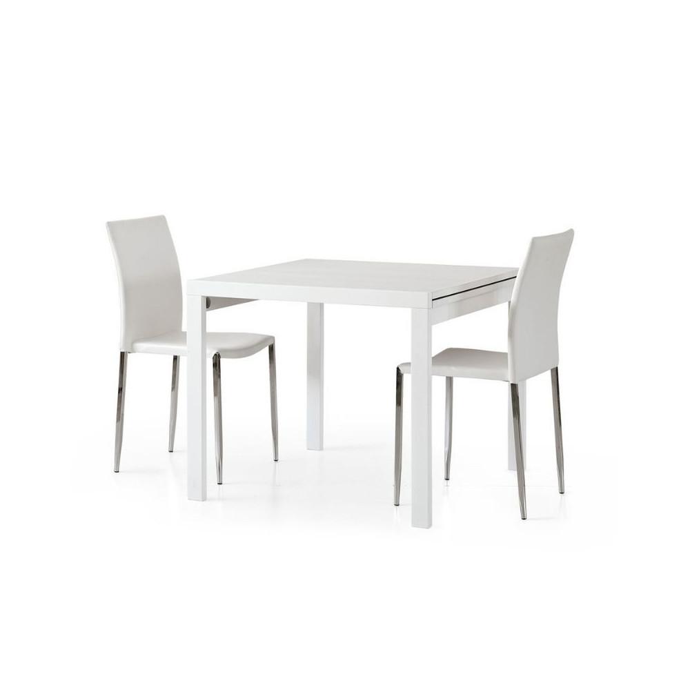 Table carrée extensible Sonia 2 en