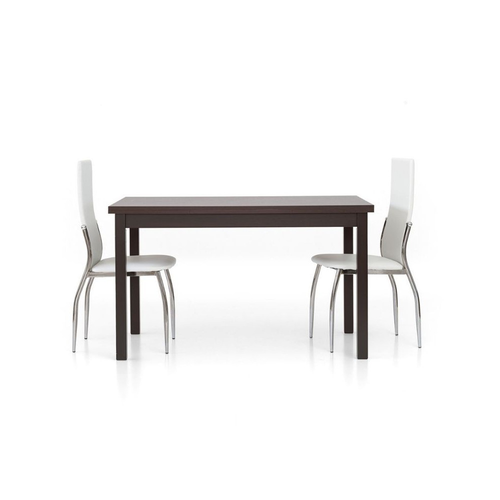 Focus 2 modern rectangular table, dark