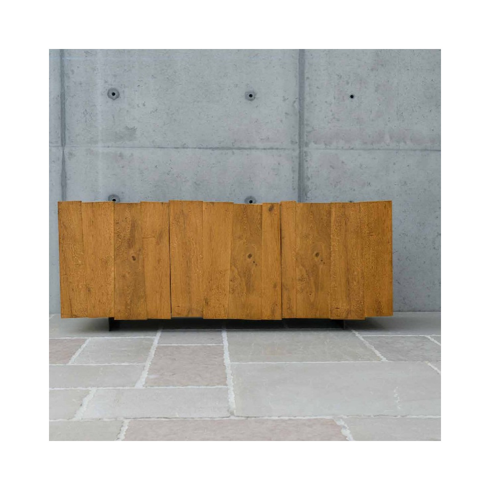 Sideboard with 3 hinged doors with