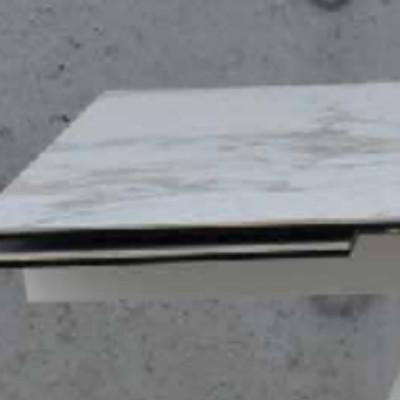 Table extensible Astrid, avec 2 rallonges de 40 cm