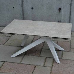 Dan extendable table with 2...