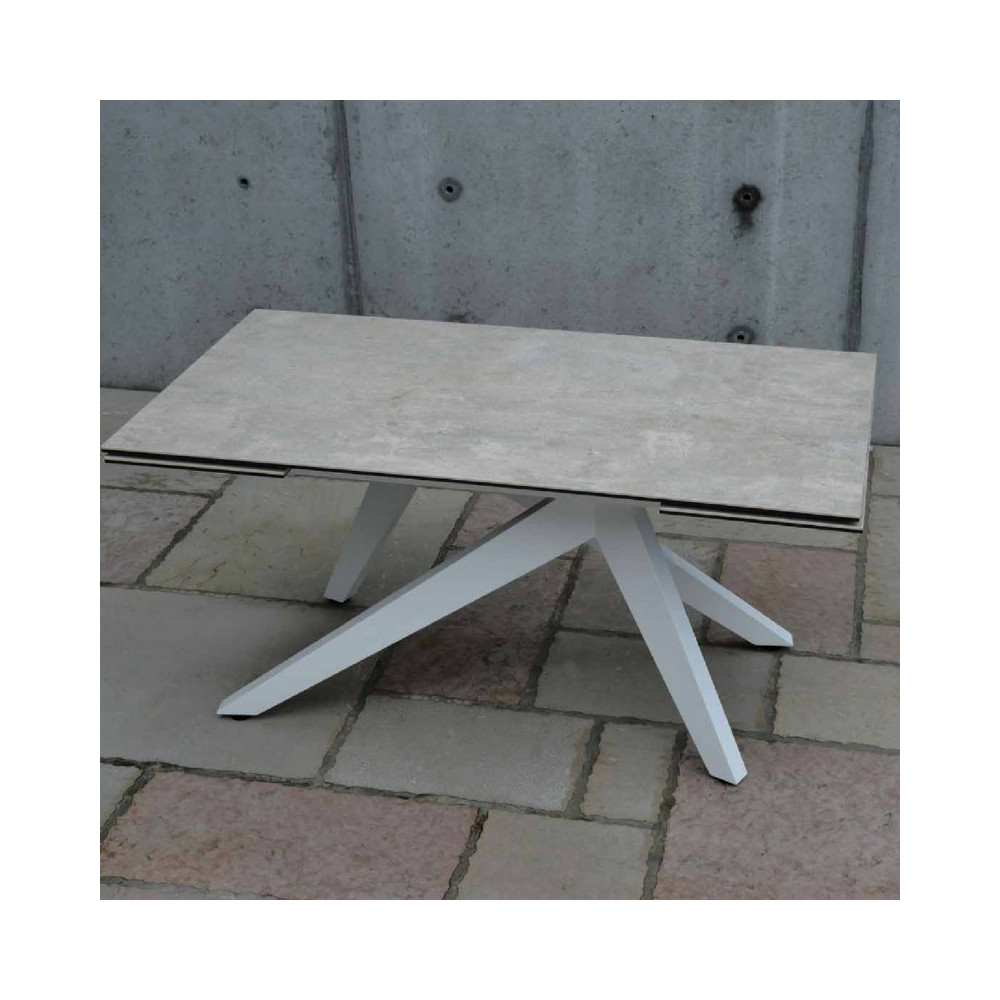 Dan extendable table with 2 extensions