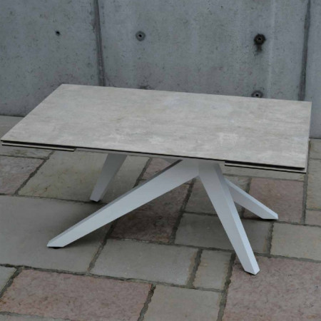 Dan extendable table with 2 extensions 40 cm