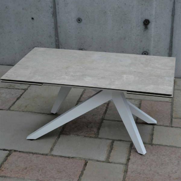 Tavolo allungabile Dan con 2 allunghe 40 cm