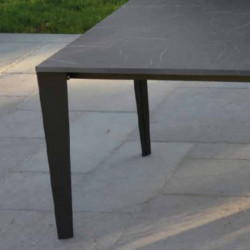 Susy extendable table with 2 extensions of 50 cm