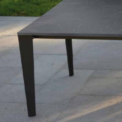 Table extensible Susy avec 2 rallonges de 50 cm