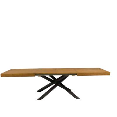 Table extensible Pelago plaquée en chêne noué