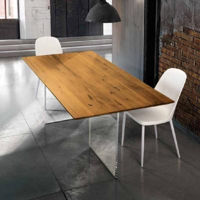 Table fixe Siro en chêne...