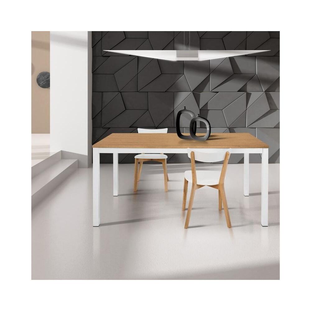 Primula rectangular table, oak laminate