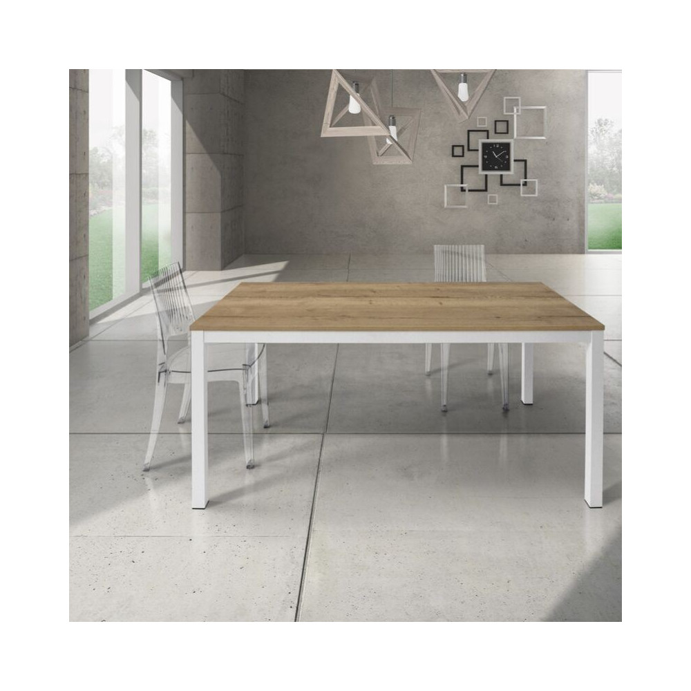 Silenia rectangular table with knotted