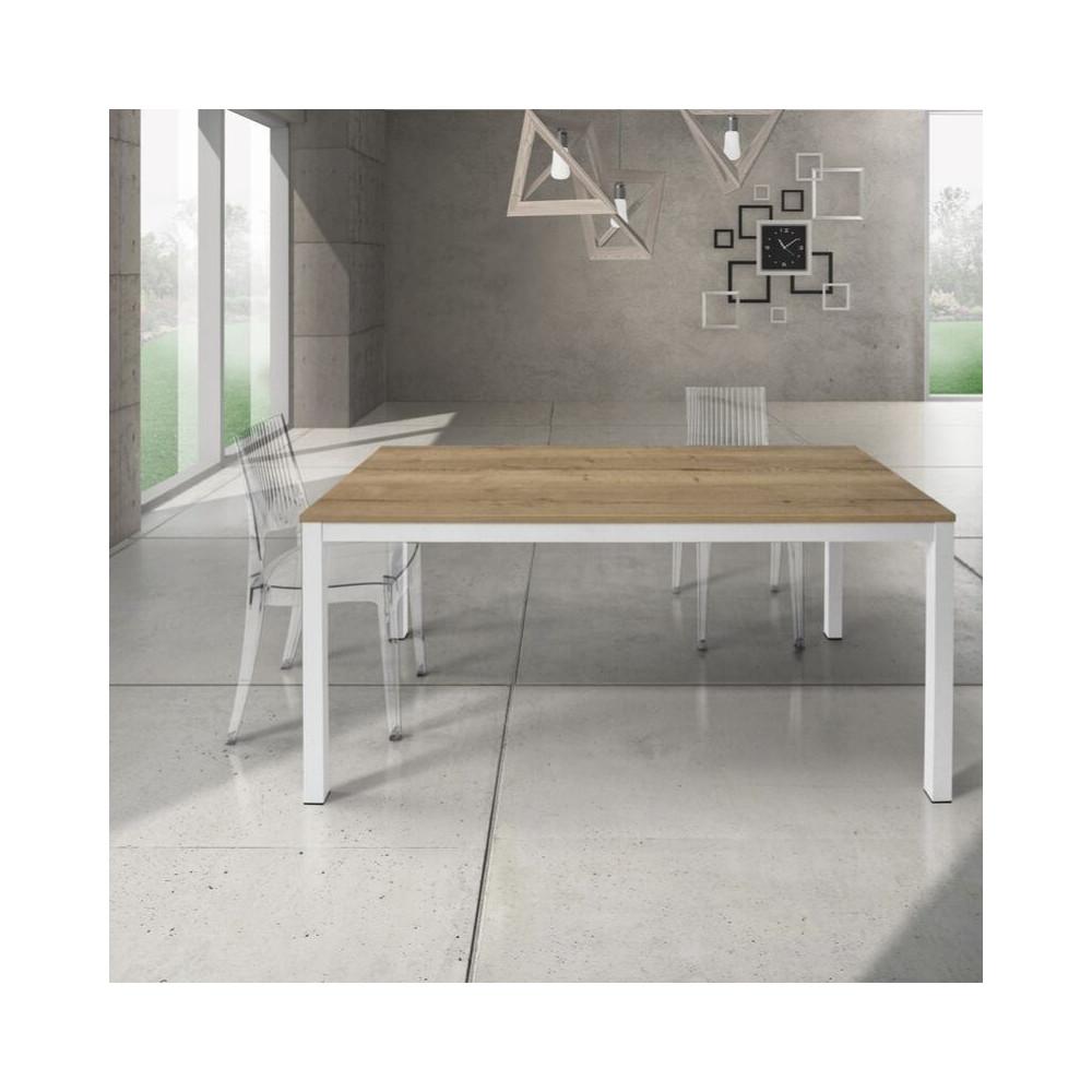 Table rectangulaire Silenia avec plateau