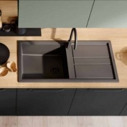 Built-in sinks for kitchen